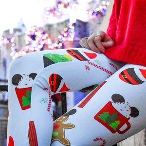 Pants - Mouse Themed Christmas Treats Leggings